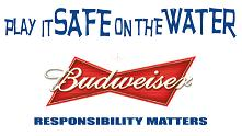 Budweiser Play it Safe on the Water